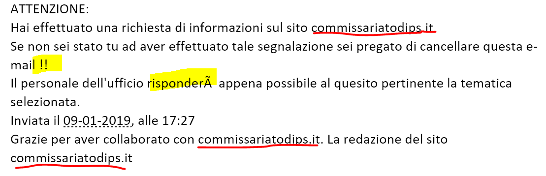 commisariato_mail_conferma